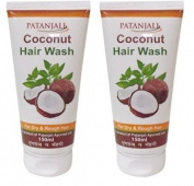 Patanjali Coconut Hair Wash 150ml (Pack of 2) - Pamherbal®