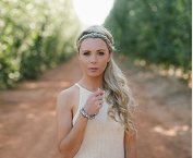 """""""Analisa"""" Authentic Fashion Headband by Pink Pewter"""
