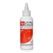 Via Living Colour Hair Collection Colour - #072 Garnet Red 60ml