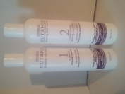 Nutri-ox Thinning Hair System for Chemically Treated W350ml Shampoo, 350ml Conditioner