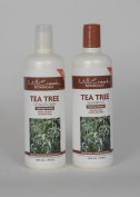 Mill Creek Botanicals Tea Tree Shampoo and Conditioner Bundle