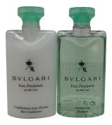 Bvlgari Au the Vert (Green Tea) Shampoo & Conditioner Lot of 6