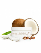 Virgo Essentials Argan & Coconut Oil Hair Sculpting Cream - Hair Salon Quality for Long & Short Hair - Medium Shine & Medium Hold
