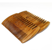 MooKiYi Green sandalwood no static handmade comb,Pocket comb