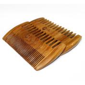 MooKiYi Green sandalwood no static handmade comb,Pocket comb