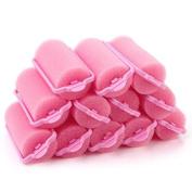 16pcs Popular Soft Sponge Hair Curler Rollers Cushion