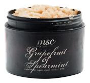 MSC Skin Care and Home Handmade Exfoliating Sugar Body Scrub, Grapefruit and Spearmint