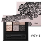Kose VISEE Velvet Shimmer Eyes 6-Colour Eyeshadow Palette GY-1
