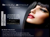 Beauty Armour Cosmetics 3-Steps Fibre Mascara, Lash Extensions in 60sec
