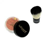 BellaPierre Mineral Blush MB001 Desert Rose 4G5ml + Kabuki Brush