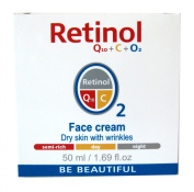 Mincer Retinol Q10 + C + O2 Face Cream, Day & Night - 50ml