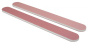 Standard Pink/Lt. Pink 280/320 Washable Nail File 50 Pack
