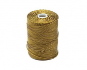 C-LON Bead Cord, Golden Olive - .5mm, 92 Yard Spool