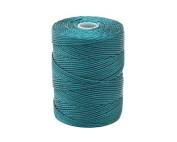 C-LON Bead Cord, Cerulean - .5mm, 92 Yard Spool