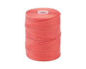 C-LON Bead Cord, Chinese Coral - .5mm, 92 Yard Spool