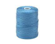 C-LON Bead Cord, Carribean Blue - .5mm, 92 Yard Spool