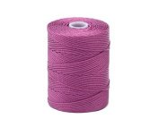 C-LON Bead Cord, Azalea - .5mm, 92 Yard Spool