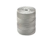 C-LON Bead Cord, Argentum - .5mm, 92 Yard Spool