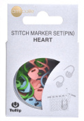 Tulip amicolle (Amikore) stage counted marker set Heart AC-033