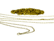 Gauze and workshop chain 5m Yoshi Kaneko antique gold 3.5 * 2.4mm 1M ~ 5 this accessories necklace parts wallet chain handmade chain