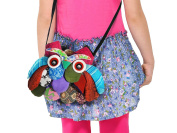 Owl Crossbody Bags Adorable Patchwork