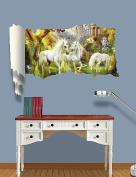 3D Wall Stickers Wall Decals, Whitehorse Decor Vinyl Wall Stickers