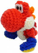 Hamanaka Knitted kit Yoshi wool World Yoshi large (B Red) H306-164-2