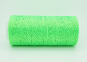NEON GREEN 0.6mm 100% Nylon Twisted Cord Thread Micro Macrame Beading Knitting Crochet Needle Crafts