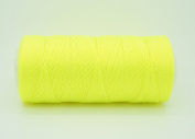 NEON YELLOW 0.6mm 100% Nylon Twisted Cord Thread Micro Macrame Beading Knitting Crochet Needle Crafts