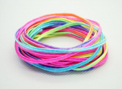 RAINBOW 3mm Soutache Braided Cord Beading Sewing Quilting Trimming String