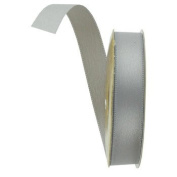 Satin Silver Ribbon - 10 Yards - 1.6cm