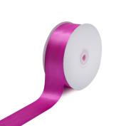 Creative Ideas Solid Satin Ribbon, 3.8cm by 50 Yard, Fuchsia, Solid