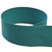 USA Made 2.5cm - 1cm Teal Solid Grosgrain Ribbon - 100 Yards -