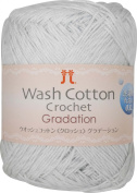 Hamanaka wash cotton crochet gradation 25g 104m col.204 5 ball set