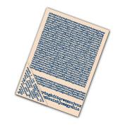 Tattered Lace Set of 4 Embossing Folders -- Typewriter EF07