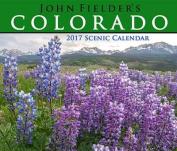 John Fielder's 2017 Colorado Scenic Wall Calendar