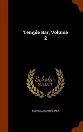 Temple-Bar-Volume-2-by-George-Augustus-Sala