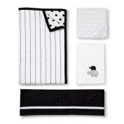 CircoTM 4pc Crib Bedding Set - Black & White