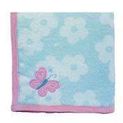 Wings Applique Blanket in Pink