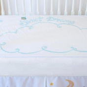 Little Acorn F13B11 Sweet Dreams Fitted Crib Sheet