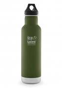 Klean Kanteen Classic Insulated 590ml Stainless Steel Bottle With Loop Cap