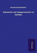 Indonesich Und Indogermanisch Im Satzbau [GER]