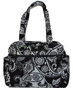 Vera Bradley Midnight Paisley Baby Bag