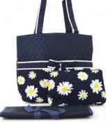 Ngil Daisy Quilted Nappy Bag
