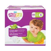 BABY nappies PREMIUM SIZE 5, 62 CT