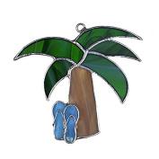 Switchables Palm Tree w/Blue Flip Flops