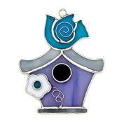 Switchables Birdhouse w/flower by Krista Hamrick
