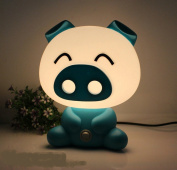 2016 Fashion Baby Pig Night Light Cartoon Table Desk Bed Sleeping Lamp for Christmas Gift Bedroom