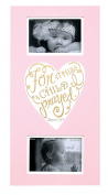 Baby Girl Pink Wall Plaque Photo Frame - For This Child I Prayed