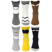 Bowbear 6-Pair Super Cute Baby Socks